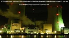 Centrale Nucléaire de Cruas-Meysse nouveau SRAM Réacteur n°4 le 11 11 2019 à 20h25