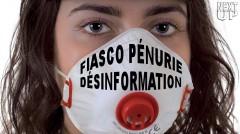 NEXT-UP ORGANISATION MASQUES FIASCO PÉNURIE DÉSINFORMATION