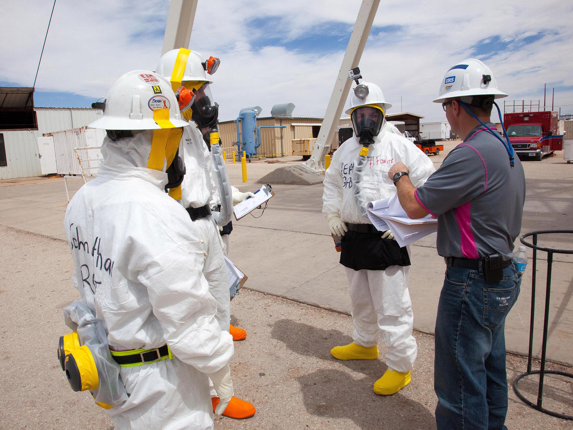 une catastrophe nucléaire en cours à 655 mètres sous terre au centre de stockage de déchets radioactifs du Nouveau Mexique ? - .
