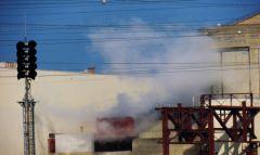2013-03-02_15h00_Tricastin_Reacteur_1_Rejets_vapeur_Incident_isolateur_parasurtenseur_1200_DSCN9222.jpg