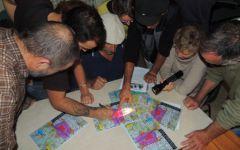Réunion de travail à Avignon du CAN84 et de l'organisation  Next-up  ce mercredi pour la préparation de l'action de sensibilisation de la population lors de l'exercice national de crise nucléaire du 7 novembre 2013 au Tricastin.
